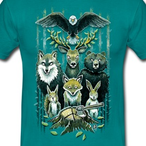 FoRest In Peace T-Shirts - Men's T-Shirt