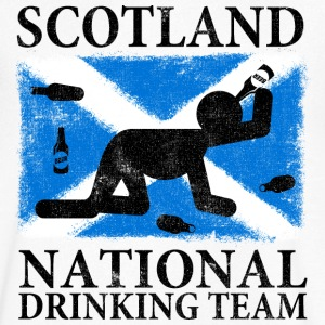 SCOTLAND NATIONAL DRINKING TEAM T-Shirts - Men's V-Neck T-Shirt