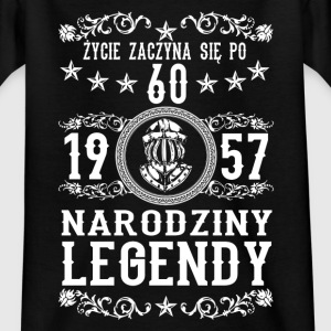 1957 - 60 lat - Legendy - 2017 - PL Shirts - Teenage T-shirt