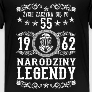 1962 - 55 lat - Legendy - 2017 - PL Shirts - Teenage Premium T-Shirt