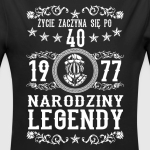 1977 - 40 lat - Legendy - 2017 - PL Baby Bodys - Baby Bio-Langarm-Body