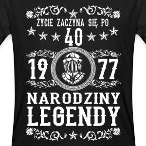 1977 - 40 lat - Legendy - 2017 - PL T-Shirts - Men's Organic T-shirt