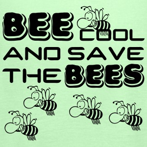 Bee cool & save the Bees - Frauen Tank Top von Bella