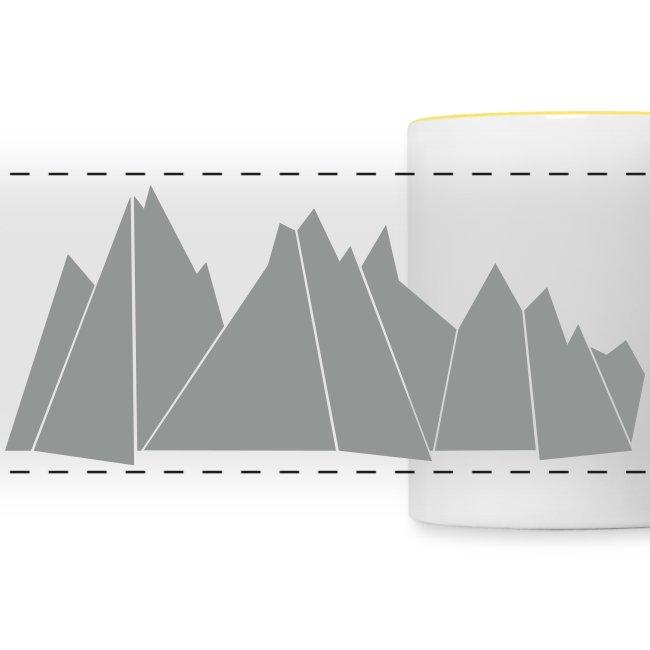 "Tasse ""MOUNTAINS"""