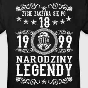 1999- 18 lat - Legendy - 2017 - PL Tee shirts - T-shirt Bio Enfant