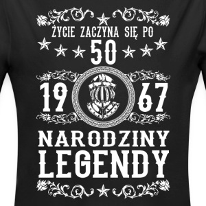 1967 - 50 lat - Legendy - 2017 - PL Baby Bodys - Baby Bio-Langarm-Body