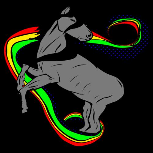 Rainbow Horse