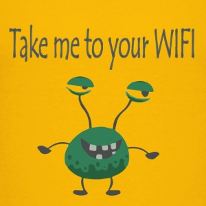Take me to your WIFI Shirts - Teenage Premium T-Shirt