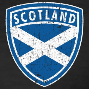SCOTLAND USED EMBLEM T-Shirts - Men's Slim Fit T-Shirt