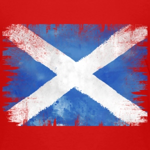 SCOT VINTAGE  FLAG  Shirts - Teenage Premium T-Shirt