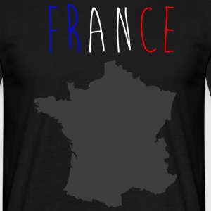 france hexagone Tee shirts - T-shirt Homme