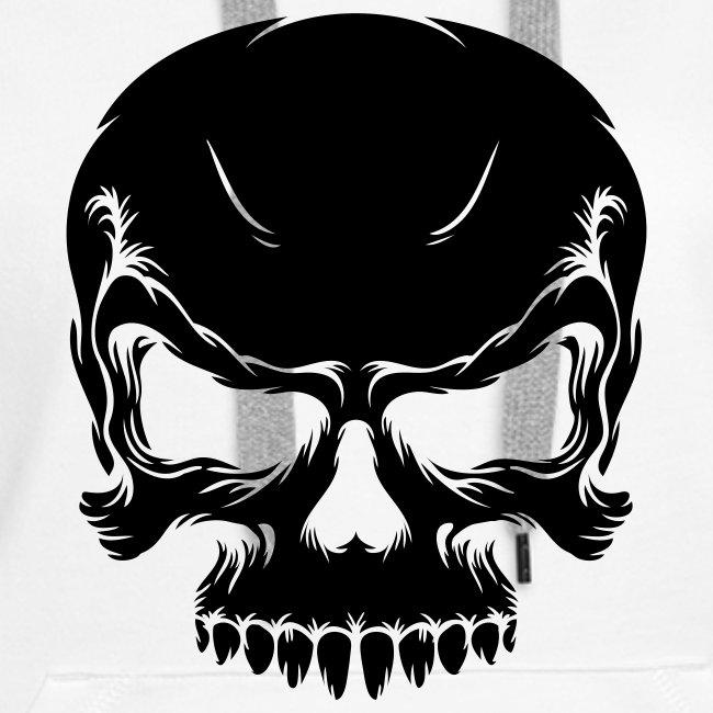 Skull, Hood (black)