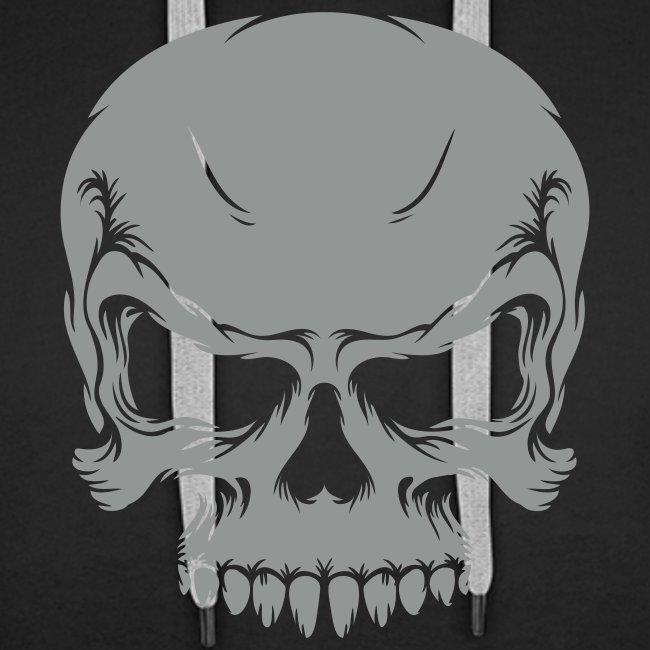 Skull, Hood (white)