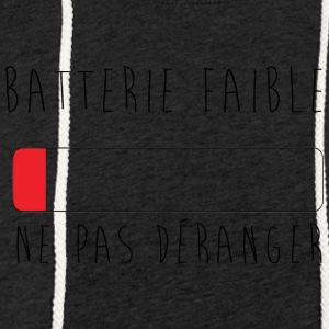 batterie faible, ne pas déranger Sweat-shirts - Sweat-shirt à capuche léger unisexe