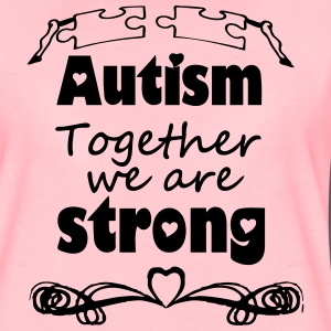 Autism  - together strong  T-Shirts - Women's Premium T-Shirt