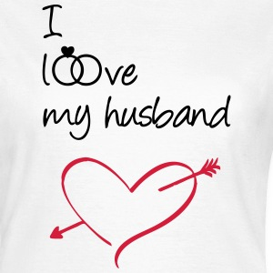 I love my husband T-Shirts - Women's T-Shirt