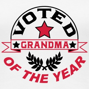 Voted grandma of the year T-Shirts - Frauen Premium T-Shirt