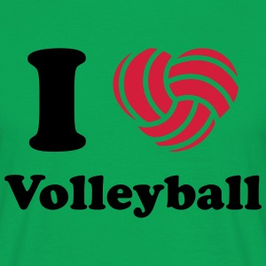 VF I love Volleyball MP T-Shirts - Männer T-Shirt
