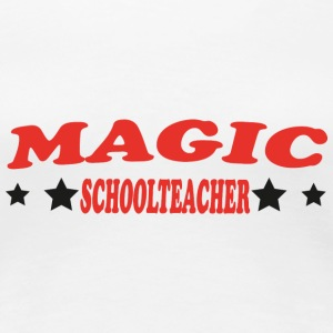Magic schoolteacher T-Shirts - Women's Premium T-Shirt