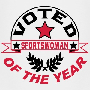 Voted sportswoman of the year Shirts - Kids' Premium T-Shirt