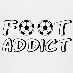 Foot addict Shirts - Teenage Premium T-Shirt