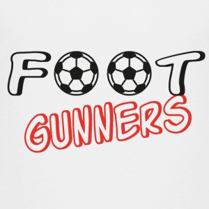 Foot gunners Shirts - Teenage Premium T-Shirt