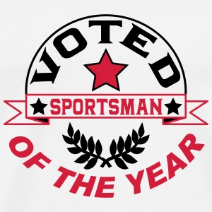 Voted sportsman of the year T-Shirts - Men's Premium T-Shirt