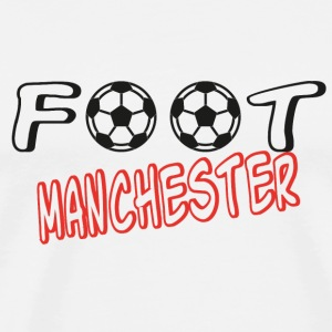 Foot manchester T-Shirts - Men's Premium T-Shirt