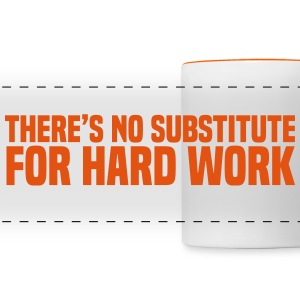 Hard Work Mugs & Drinkware - Panoramic Mug