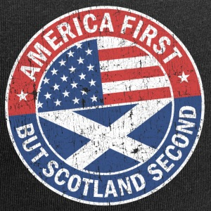 AMERICA FIRST, BUT SCOTLAND SECOND Caps & Hats - Jersey Beanie