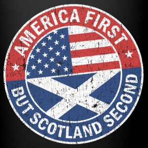 AMERICA FIRST, BUT SCOTLAND SECOND Mugs & Drinkware - Full Colour Mug