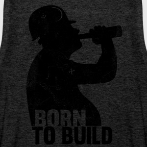 BORN TO  BUILD Sports wear - Men's Premium Tank Top