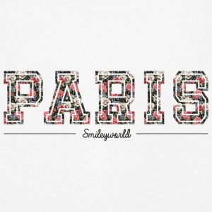 SmileyWorld Paris Lettrage Floral - T-shirt manches longues Premium Enfant