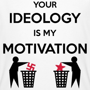 Ideology vs. Motivation T-Shirts - Männer Bio-T-Shirt