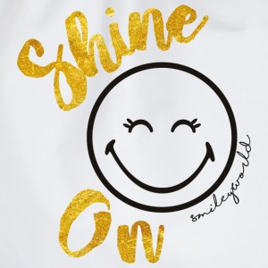 SmileyWorld Always shine on - Drawstring Bag