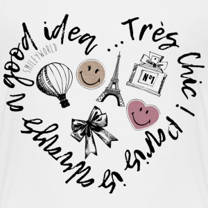 SmileyWorld Paris Is Always A Good Idea - T-shirt Premium Enfant