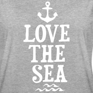 LOVE THE SEA T-Shirts - Women's Oversize T-Shirt