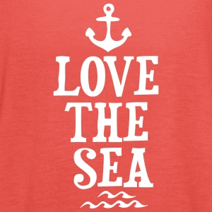 LOVE THE SEA Tops - Women's Tank Top by Bella