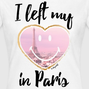 SmileyWorld I Left My Heart In Paris - Frauen T-Shirt