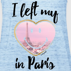 SmileyWorld Left my heart in Paris - Dame tanktop fra Bella