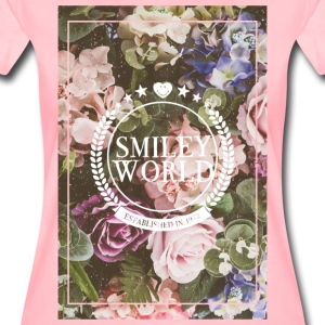 SmileyWorld Various Flowers In Bloom - Premium T-skjorte for kvinner