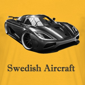 Swedish Aircraft Tee shirts - T-shirt Homme