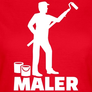 Maler T-Shirts - Frauen T-Shirt