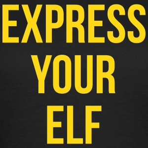 Express your elf T-skjorter - T-skjorte for kvinner
