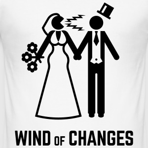 Wind Of Changes (Stag Night Bachelor Party Groom) - Men's Slim Fit T-Shirt