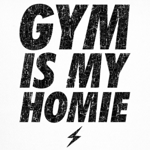 GYM IS MY HOMEBOY Caps & Hats - Trucker Cap