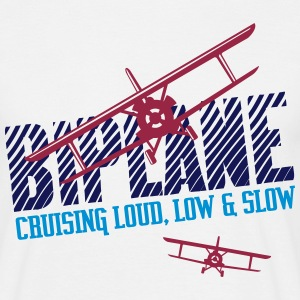 Biplane - Cruising Loud, Low & Slow - Maglietta da uomo