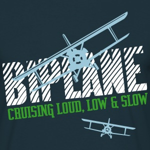 Biplane - Cruising Loud, Low & Slow T-shirts - Mannen T-shirt
