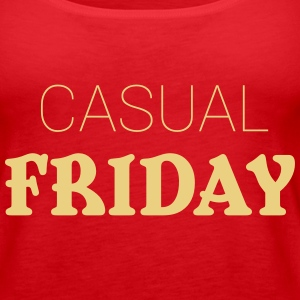 Casual Friday Tops - Camiseta de tirantes premium mujer