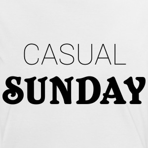 Casual Sunday T-shirts - Dame kontrast-T-shirt